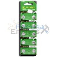 AG1 364A LR60 SR60 LR521 LR621 Button Cell Batteries [10-Pack]