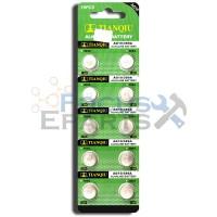 AG10 389A LR1130 LR54 L1131 SR1130 Button Cell Batteries [10-Pack]