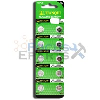 AG11 362A SR720 SR721SW LR721 SR58 Button Cell Batteries [10-Pack]