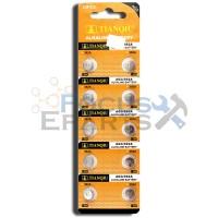 AG3 392A LR41 SR41SW LR736 LR736 SR41 Button Cell Batteries [10-Pack]