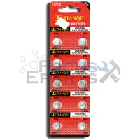 AG5 393A LR754 SR48 Button Cell Batteries [10-Pack]