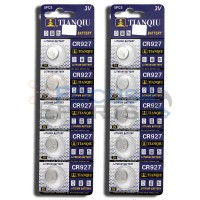 CR927 DL927 BR927 5011LC LM927 KCR927 927 Button Cell Batteries [10-Pack]