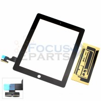 iPad 2 Digitizer Glass Replacement - Black