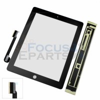 iPad 4 Digitizer Glass Replacement - Black