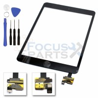 iPad Mini Digitizer Glass Replacement (with IC Chip) - Black