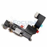 iPhone 5S Charger Port Flex Cable Replacement - White