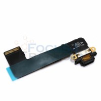 iPad Mini Charging Dock Connector Port Flex Cable Replacement - Black