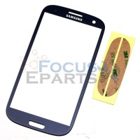 Samsung Galaxy S3 I9300 Front Glass Replacement - Blue