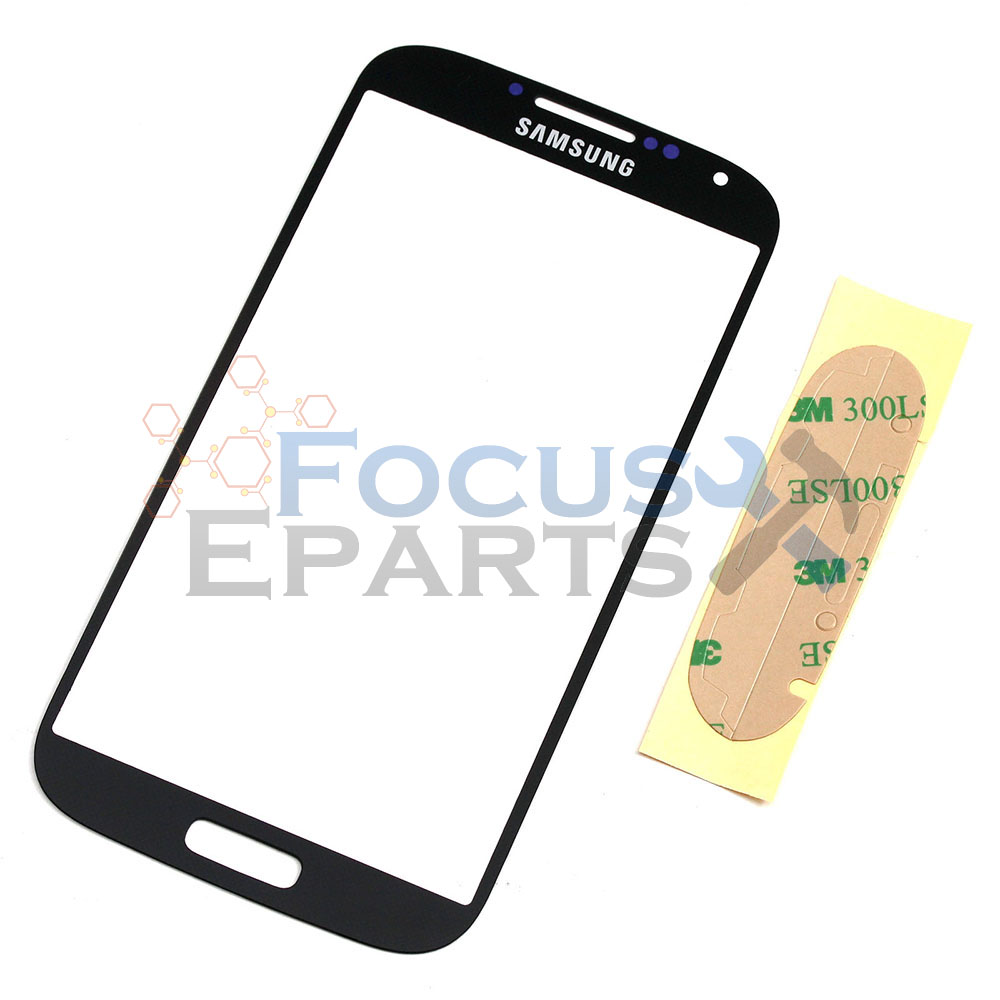Samsung Galaxy S4 I9500 Front Glass Replacement Black New All