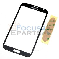 Samsung Galaxy Note 2 N7100 Front Glass Replacement - Black