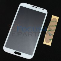 Samsung Galaxy Note 2 N7100 Front Glass Replacement - White