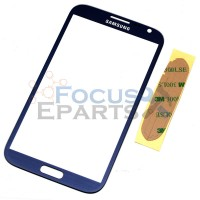 Samsung Galaxy Note 2 N7100 Front Glass Replacement - Blue
