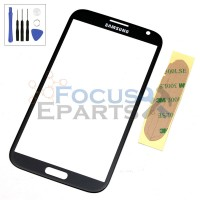 Samsung Galaxy Note 2 Front Screen Replacement - Black