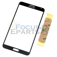 Samsung Galaxy Note 3 N9000 Front Glass Replacement - Black