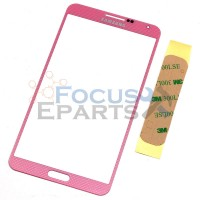 Samsung Galaxy Note 3 N9000 Front Glass Replacement - Pink