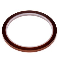 5mm x100ft Gold High Temperature Heat Resistant Kapton Tape